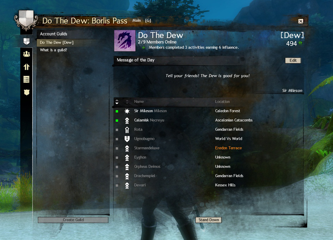 Come Play Guild Wars 2 With Us! – What's Your Tag?