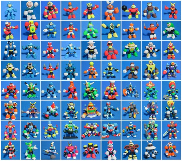 Mega Man Clay List