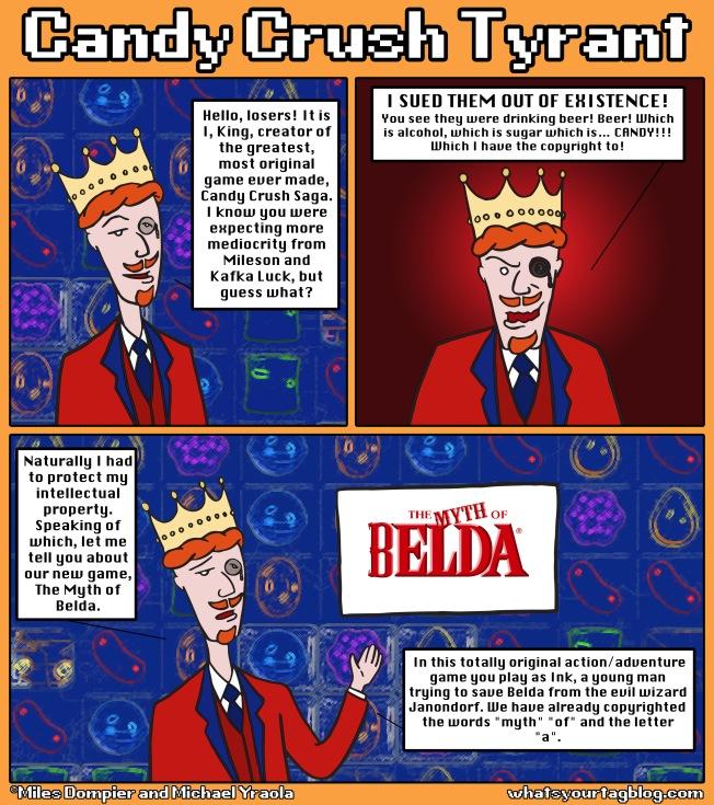Candy Crush Comics
