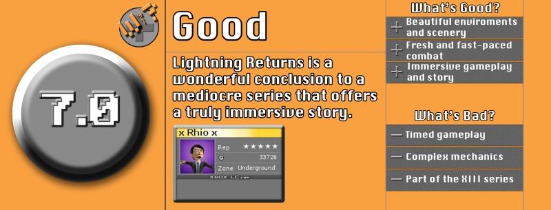 Lightining Returns Review