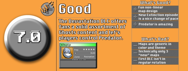 Devastation DLC Review