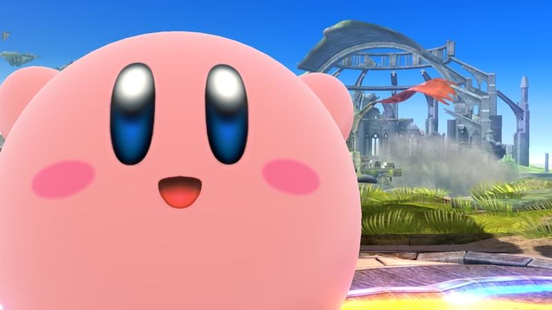 Kirby SSB Wii U