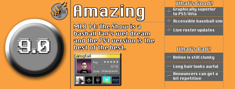 MLB The Show 14 Review