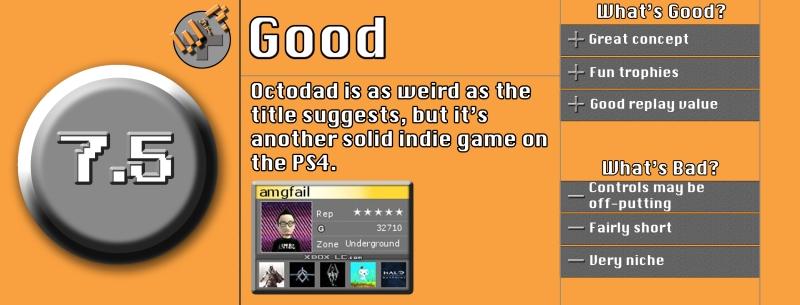 Octodad Review