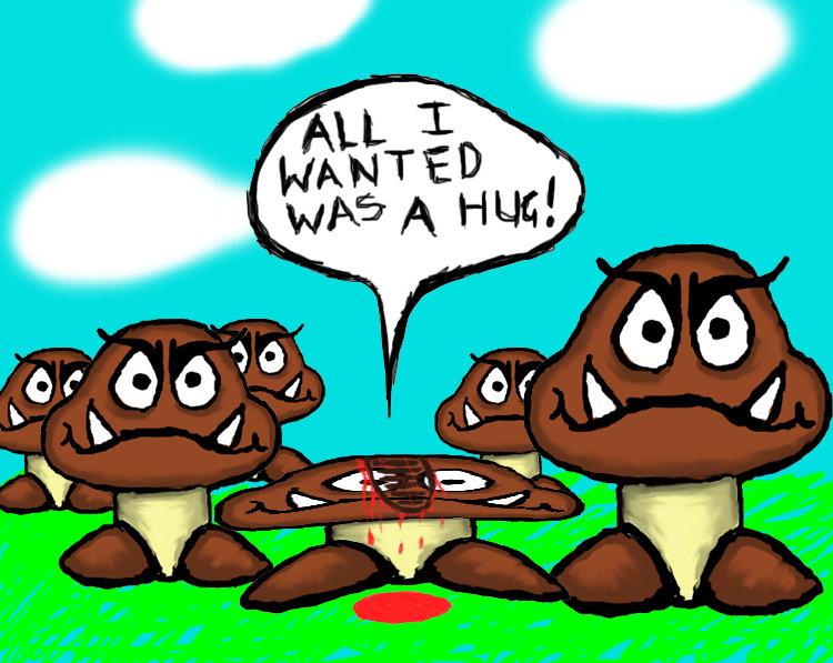 mushroom-hug