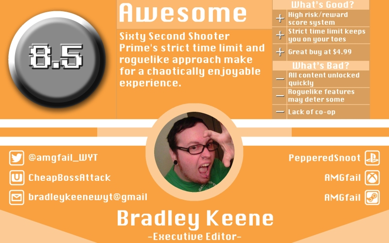 Sixty Second Shooter Prime Review