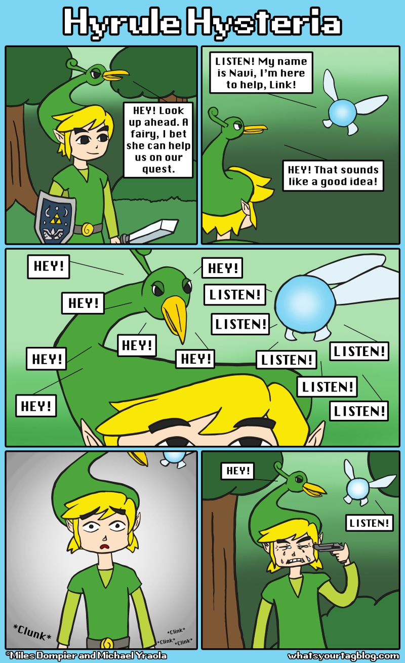 The Hyrule Hysteria