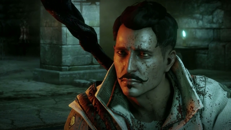 Dorian, looking dashing with the 'stache and just for men