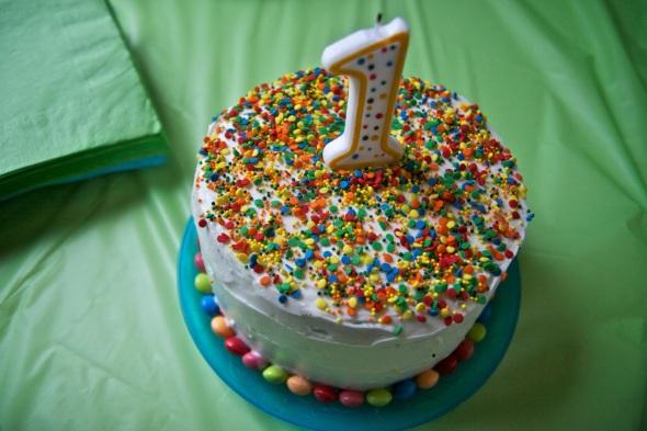 skittles-cake